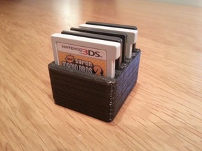 Nintendo DS Game Card Box
