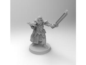 Ministorum Priest Proxy Warrior Priest with Chainsword [Remastered]