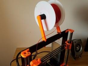 Spool shaft for Prusa i3 MK2