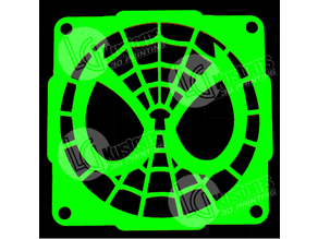 Spiderman 120mm Fan Grill