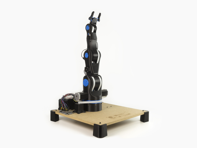 BCN3D MOVEO - A fully OpenSource 3D printed Robot Arm by