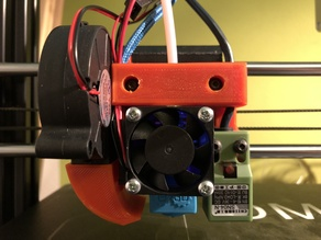 DMS DP5 E3D V6 upgrade and fun duct