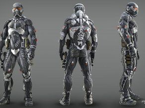Crysis PS3 nanosuit