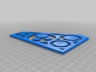 3d Printable Spirograph toy