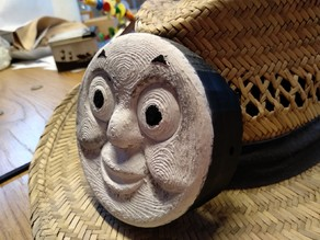 Thomas the train, with hat mount