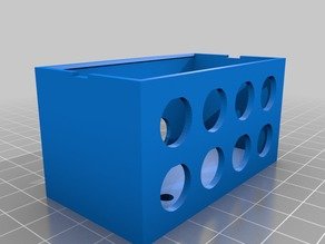 CR-10 Cable extension box - double row remix