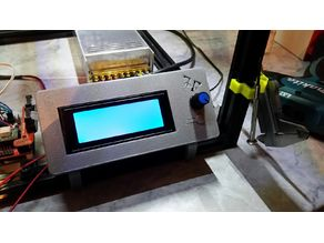 Smart LCD 2004 Display Case