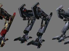Military bot Peacebringer from Deus Ex