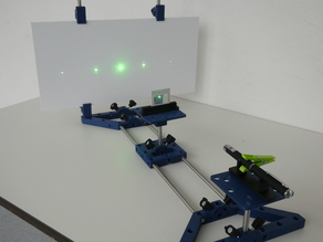 Laboratory equipment for teaching STEM in schools PART 8 - laser experiments