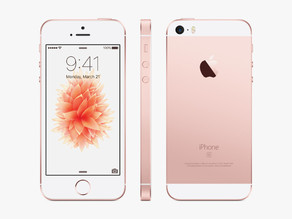 iPhone SE (rose gold)