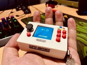 Mini SNES Pi Zero micro