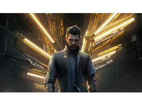 Deus Ex - Jensen - Cyber Punk Miniature