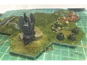 Wargaming Hex Tiles / Mighty Empires - Chaos Tiles