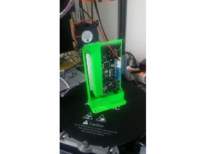 Anycubic main board cooling duct