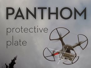 Protective plate for DJI PHANTOM