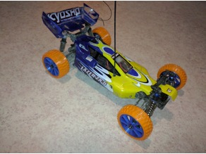 Tyres with rims  for the  Kyosho zx5