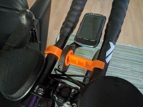 Bike computer aerobar adapter