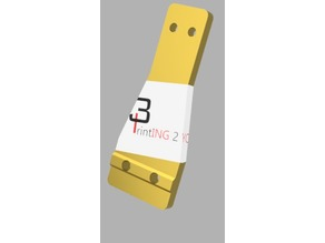 Tronxy X5S 400 energy chain holder