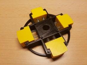 Tape Dispenser Core Adjustable