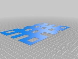 Build Plate Leveler for The Replicator 2