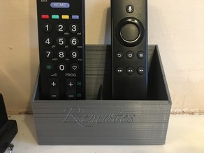 Remote Holder for Wall