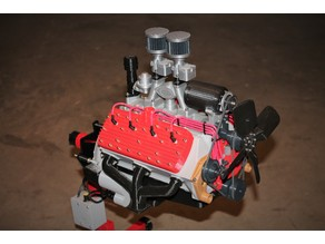 Ford Flat Head V8 Working Model Engine