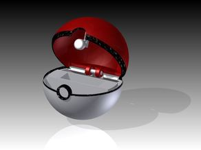 Poke- Ball Pokemon Card Holder