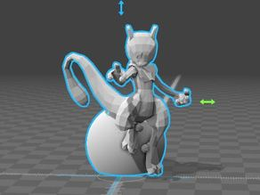 Mewtwo with base