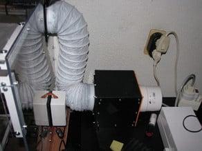My fume extractor