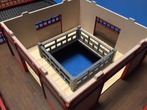 Pagoda railing for TTCombat model