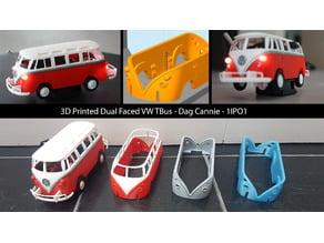 Dual Faced VW T1 Bus