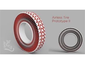 Airless Tyre Prototype 2