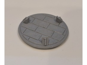 Brick 25mm Numbered Bases for Gloomhaven