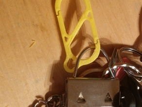 Key Carabiner stronger