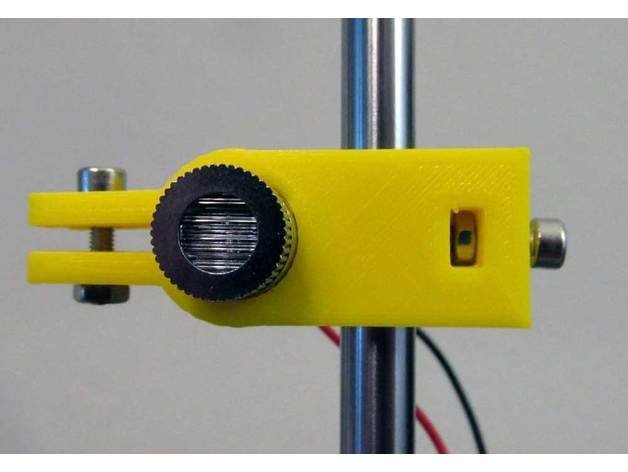 Customizable Laser Diode Rod Clamp