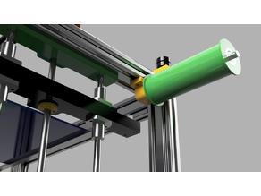 Filament Spool Holder for ReP_AL Printer