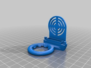Ender 3 Vent ring with integrated fan cover