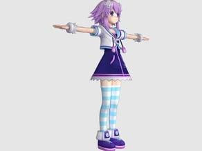 Hyperdimension Neptunia Neptune