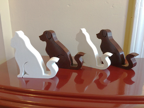 Cat and Dog Phone Stand