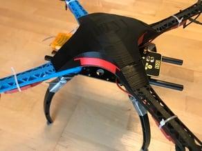 SMS500 - sleek, modular S500 drone cover