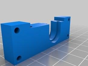Flexion extruder e3d mounting bracket