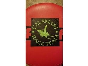 Calamari Race Team Sign