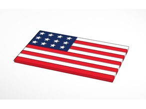 American Flag For The Boys