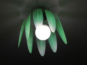 Leafy Lampshade - Banana leaf inspired