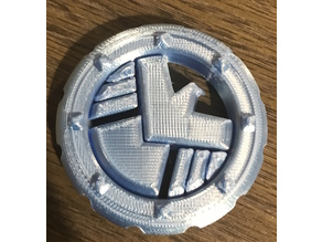 Agents of Shield Logo Maker Coin