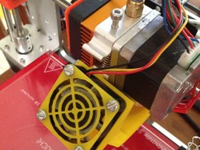 Fan Shroud for Geeetech Aluminium Printer