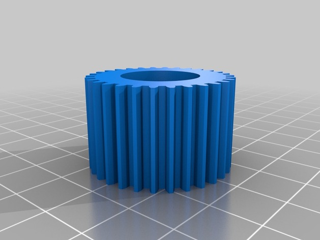 gear for pipe 0 87 inch by Arrppeggio - Thingiverse