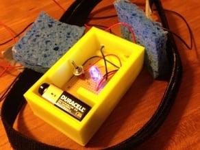 Project box for Radio Shack Dual Printed Circuit Board