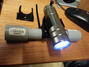 FLASHLIGHT BIKE CLIP