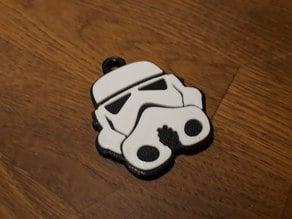 Classic stormtrooper keyring